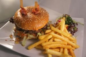 Der saftige Bacon-Burger!
